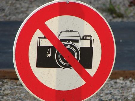 É proibido fotografar o acervo dos museus?