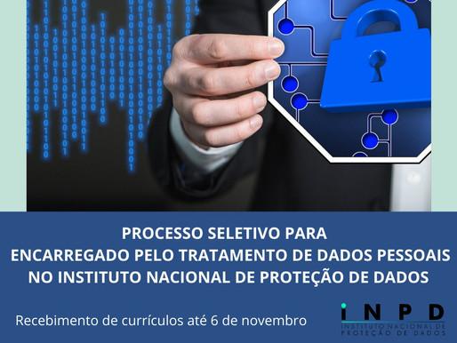 Processo Seletivo para Encarregado pelo Tratamento de Dados Pessoais no INPD