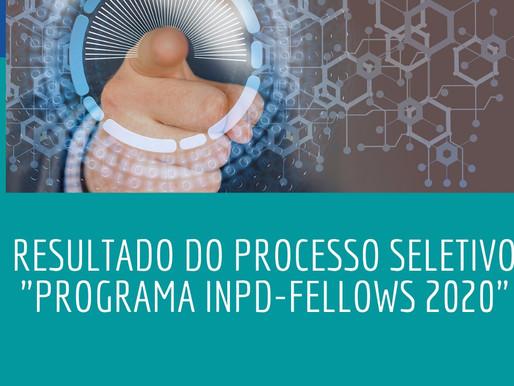 """Resultado do processo seletivo """"Programa INPD - Fellows 2020"""""""