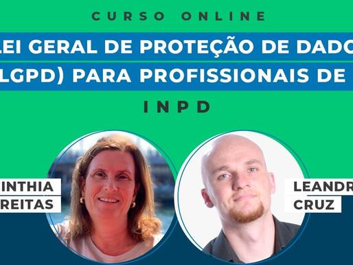 """Curso  """"Lei Geral de Proteção de Dados (LGPD) para Profissionais de TI"""""""