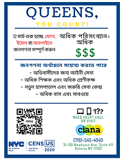 Census Flier Bangla