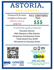 School Flier Spanish