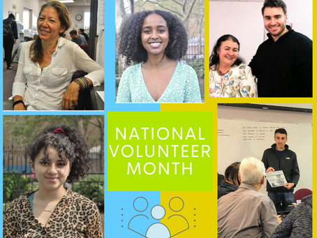 Happy National Volunteer Month!