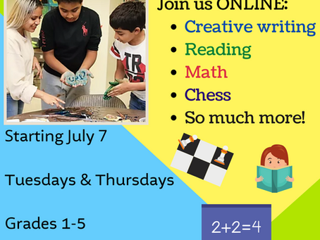 Summer Programs for Kids at CIANA