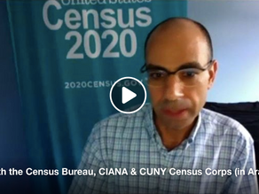 CIANA Participates in Arabic Census Q&A Hosted by Queens Public Library