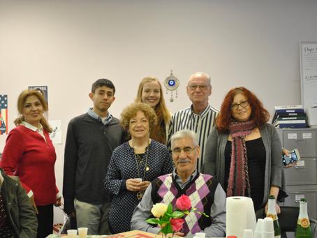 CIANA's Adult ESL and Civics Classes Celebrate Thanksgiving