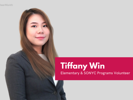 National Volunteer Month Spotlight: Tiffany Win