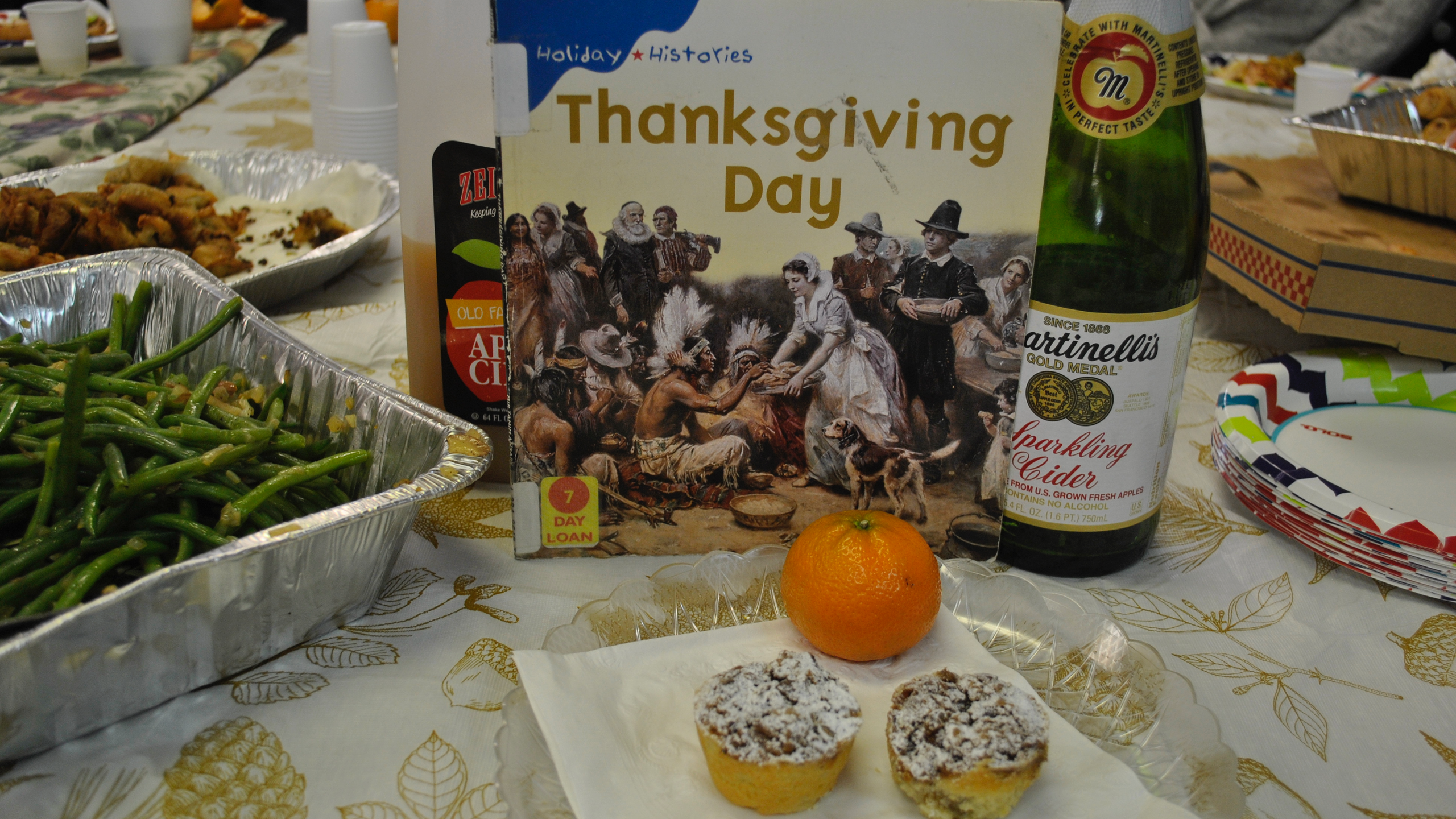 Thanksgiving Party Spread