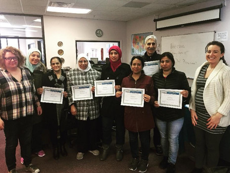 Congratulations to Our ESL Students!