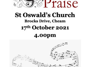 Songs Of Praise at St Oswald's Church