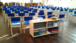 Comfortable Chairs @ St Oswald's!