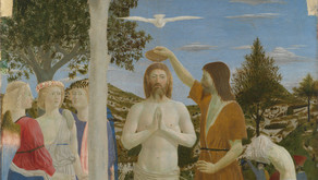 Worship in Cheam Parish for the Baptism of Christ - Sunday 10th January 2020
