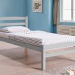 Maria grey bed