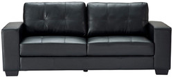 Durban sofa black