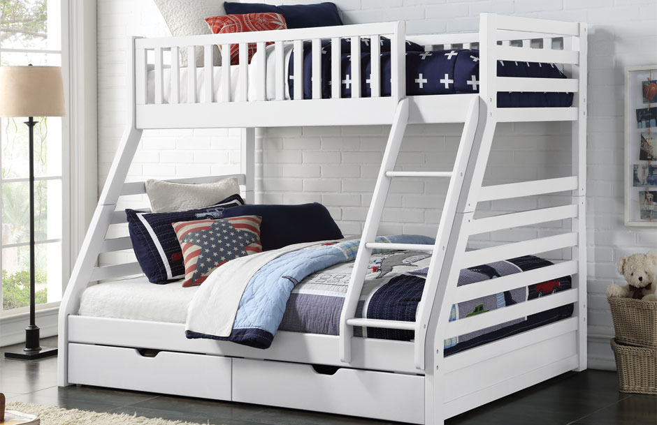 Space White Triple Sleeper