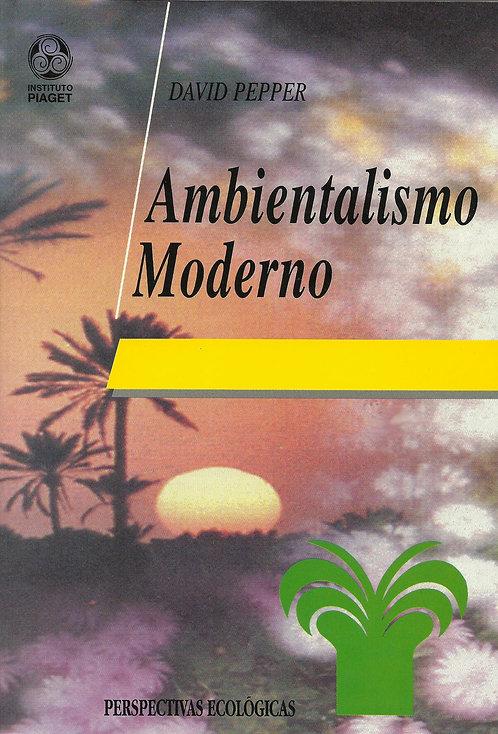 Ambientalismo Moderno de David Pepper