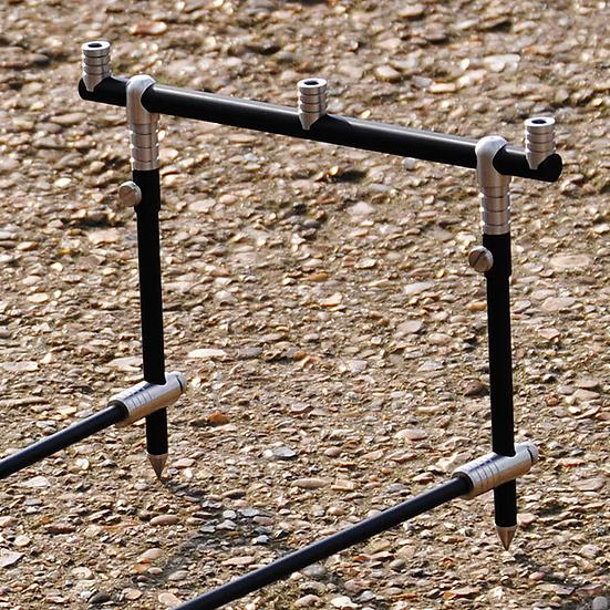 (PAIR) 11&12.5 Inch 3 Rod Anodised Aluminium Goalpost Buzz Bars