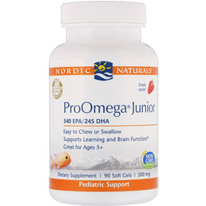 Nordic Naturals Omega Junior - 90 softgels
