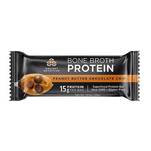 Ancient Nutrition Peanut Butter Chocolate Chip Protein Bar