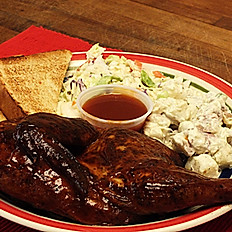 Barbecue Smoked Chicken Plate