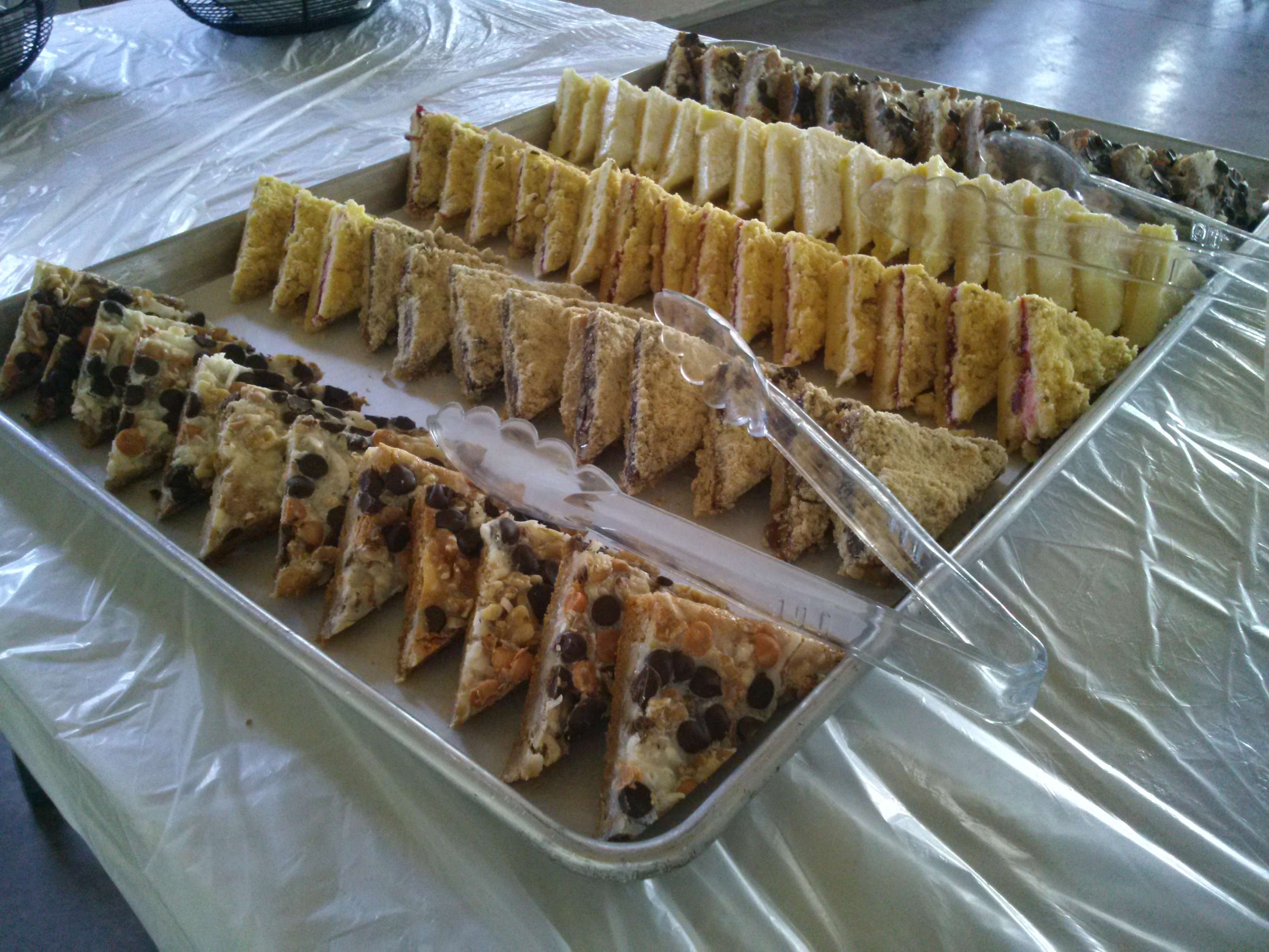 Assorted Dessert Bars