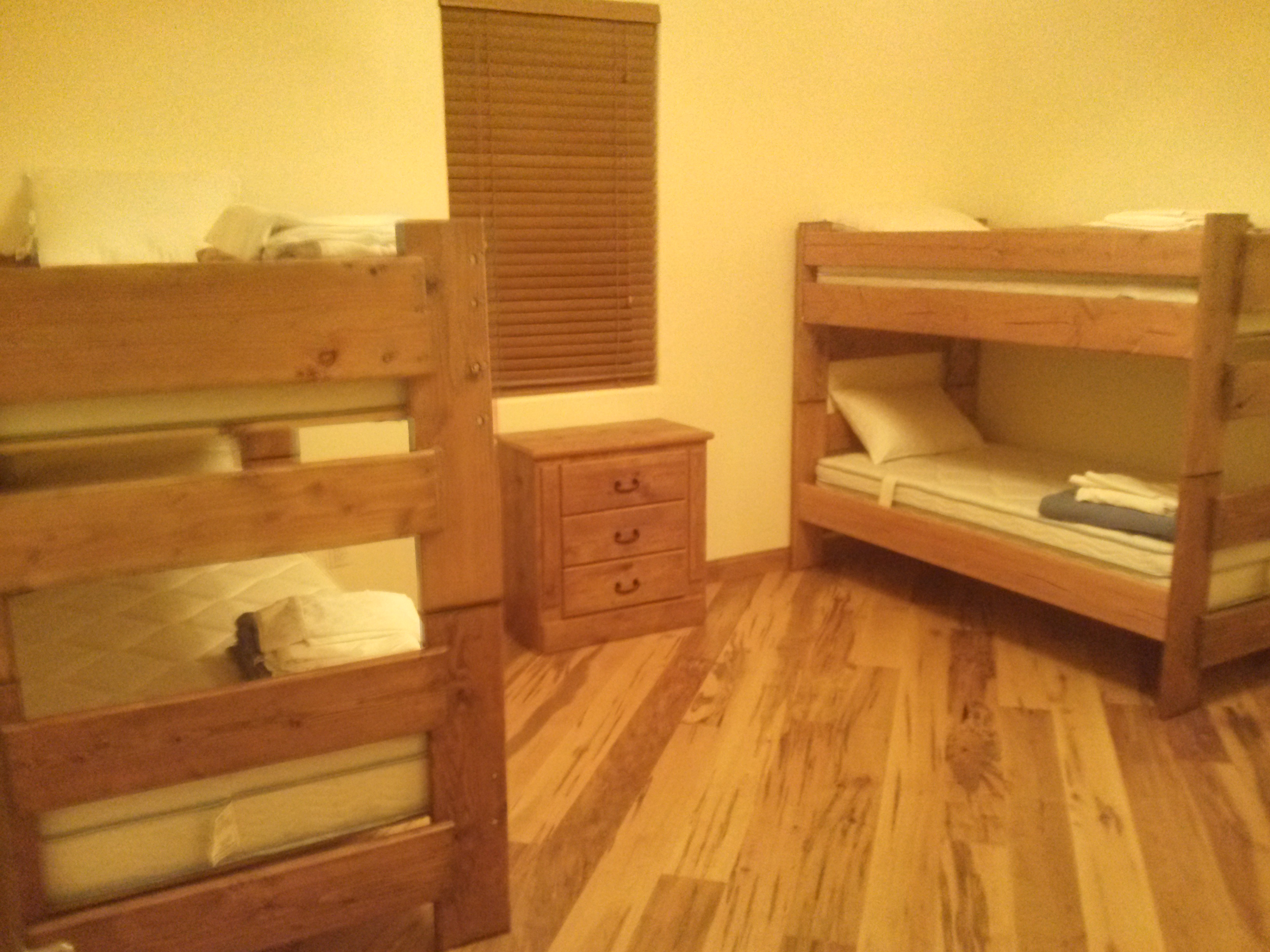 Bedrooms with Bunks