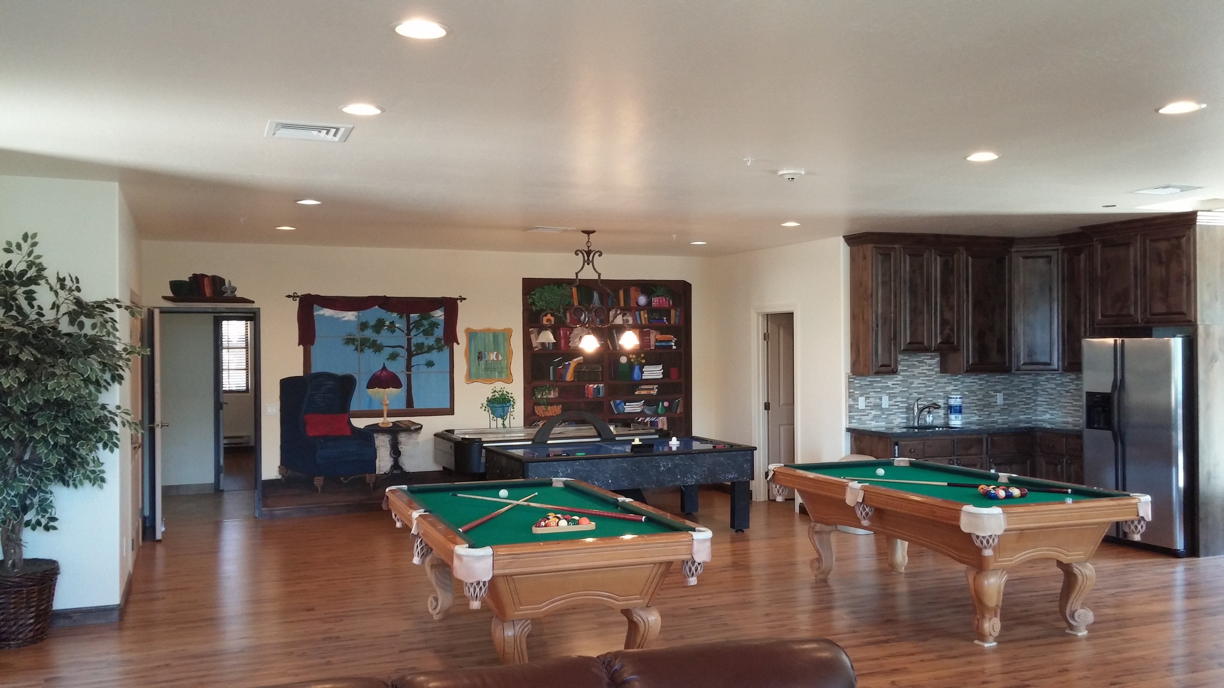 Game room retreat Center AZ
