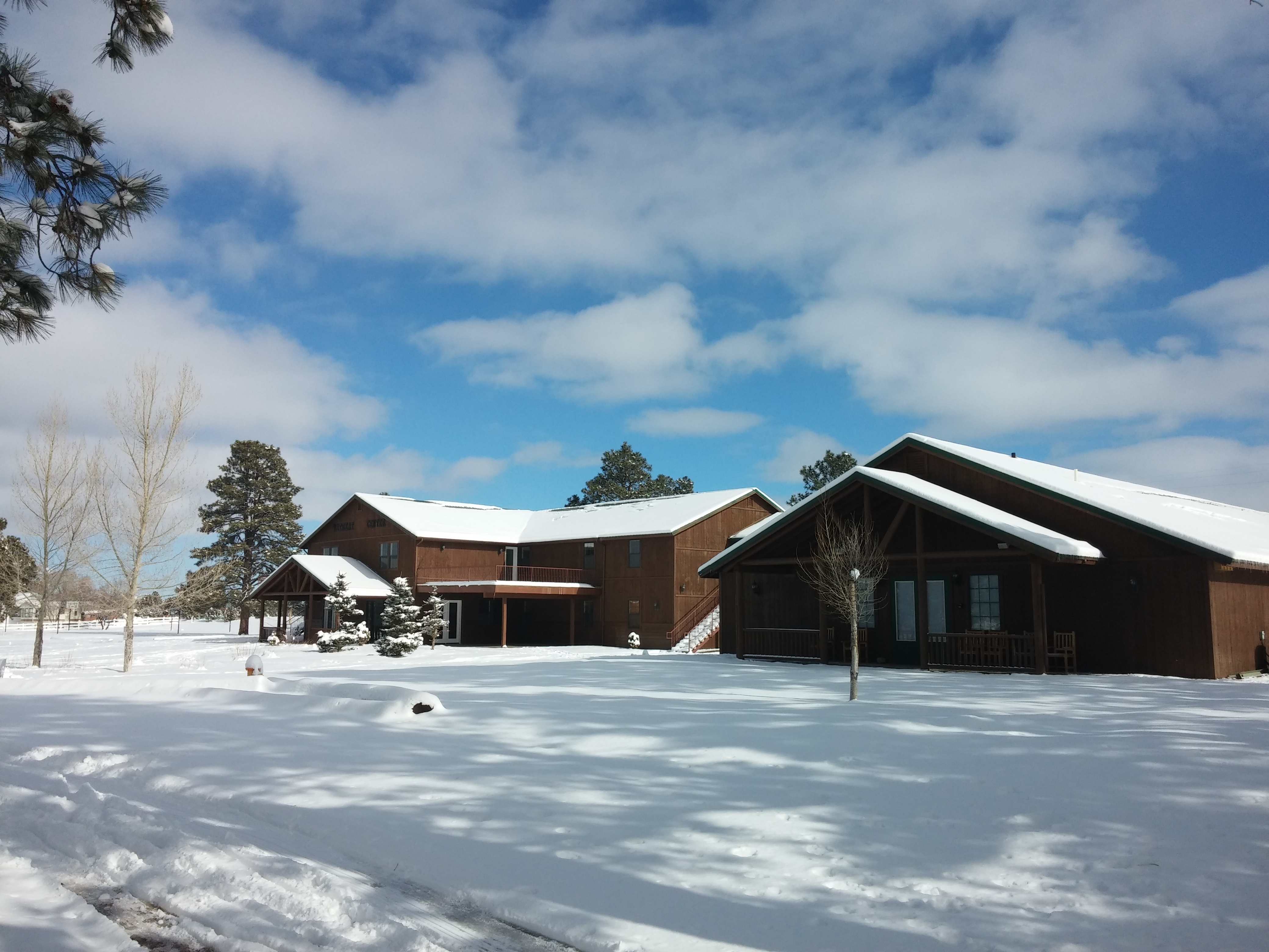 New Years Snow Retreat center AZ