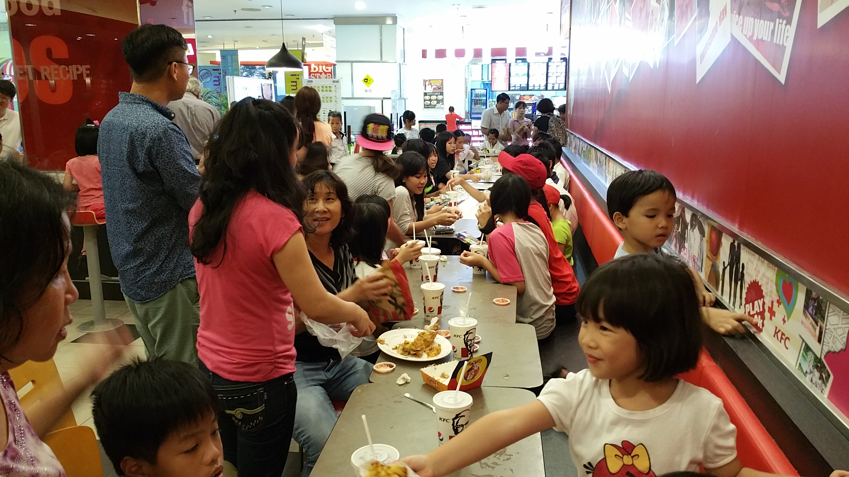 Fuuunday at KFC & the arcade