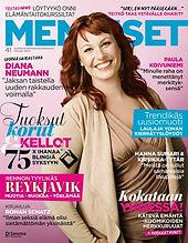Me Naiset -lehti 41/12: artikkeli elämäntaitokursseista