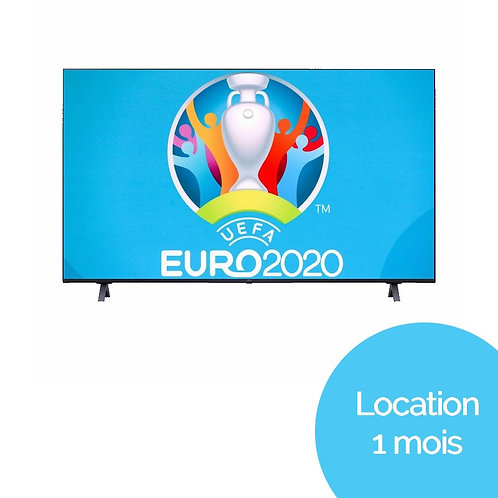 "TV LG UHD 4K 55"" ""Euro 2021"" (Location 1 mois)"