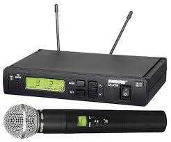 Micro HF Shure ULXP4 / SM58