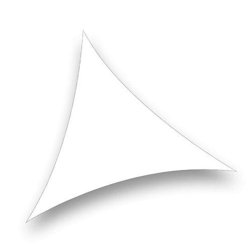 Triangle lycra blanc 3 x 5