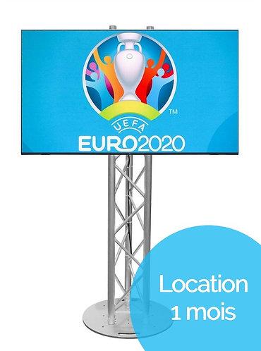 """Kit TV 55"""" + Totem 1,5M """"Euro 2021"""" (Location 1 mois)"""