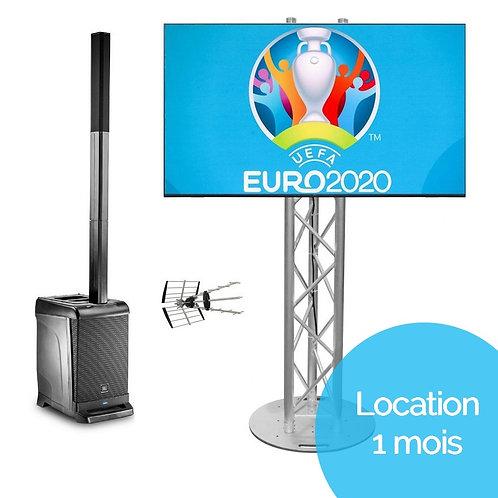 "Kit ""Euro 2021"" TV (Location 1 mois)"