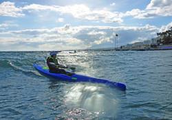 Marbella Surfski Karen P1050966