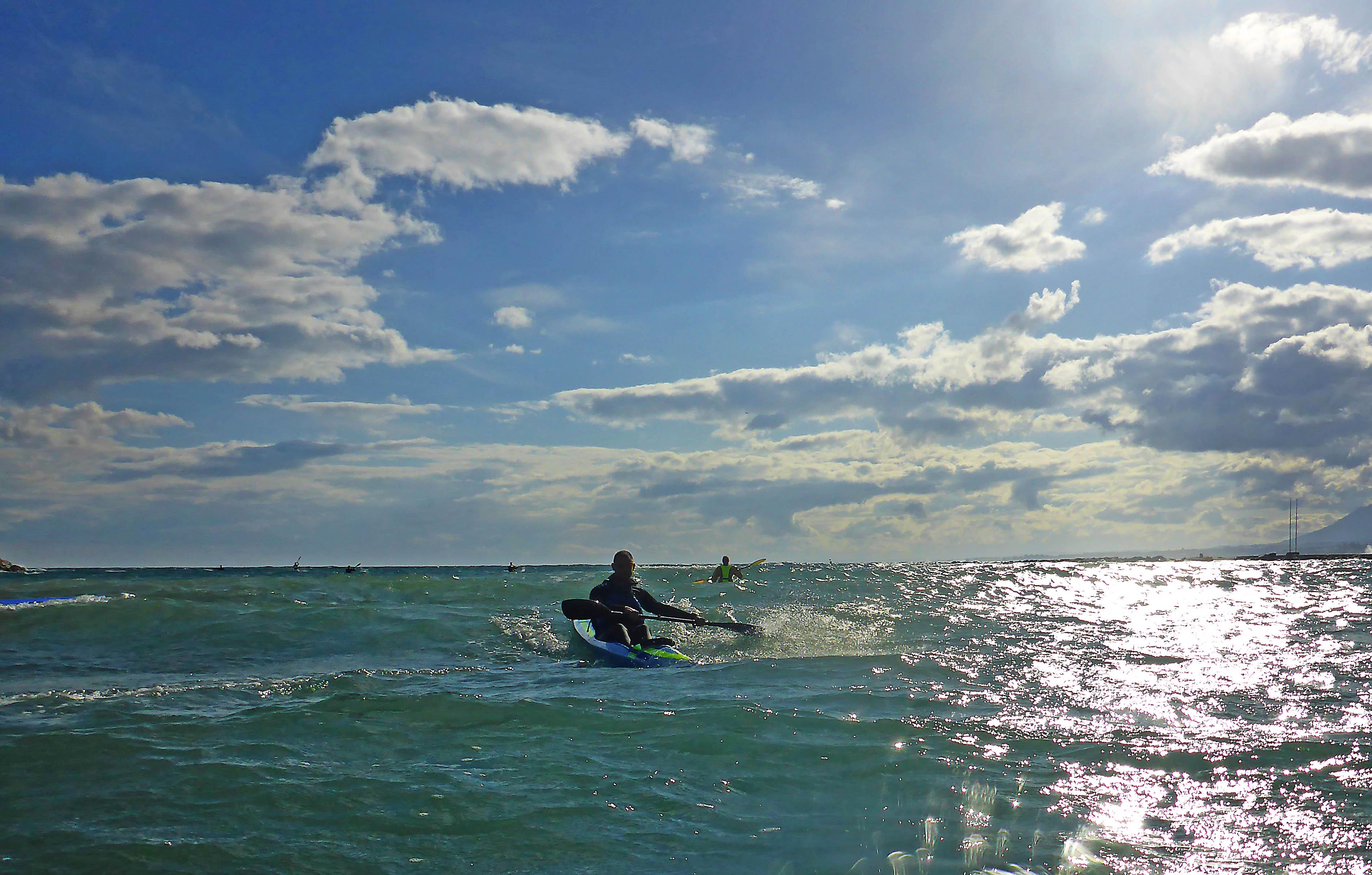 Marbella Surfski Danny P1050976