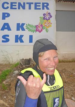 Marbella Surfski Paula Hang loose P1060031