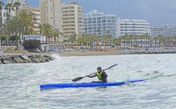 Marbella Surfski Paula P1060044