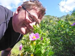 Marbella Surfski La Concha Patrik blommor P1060089