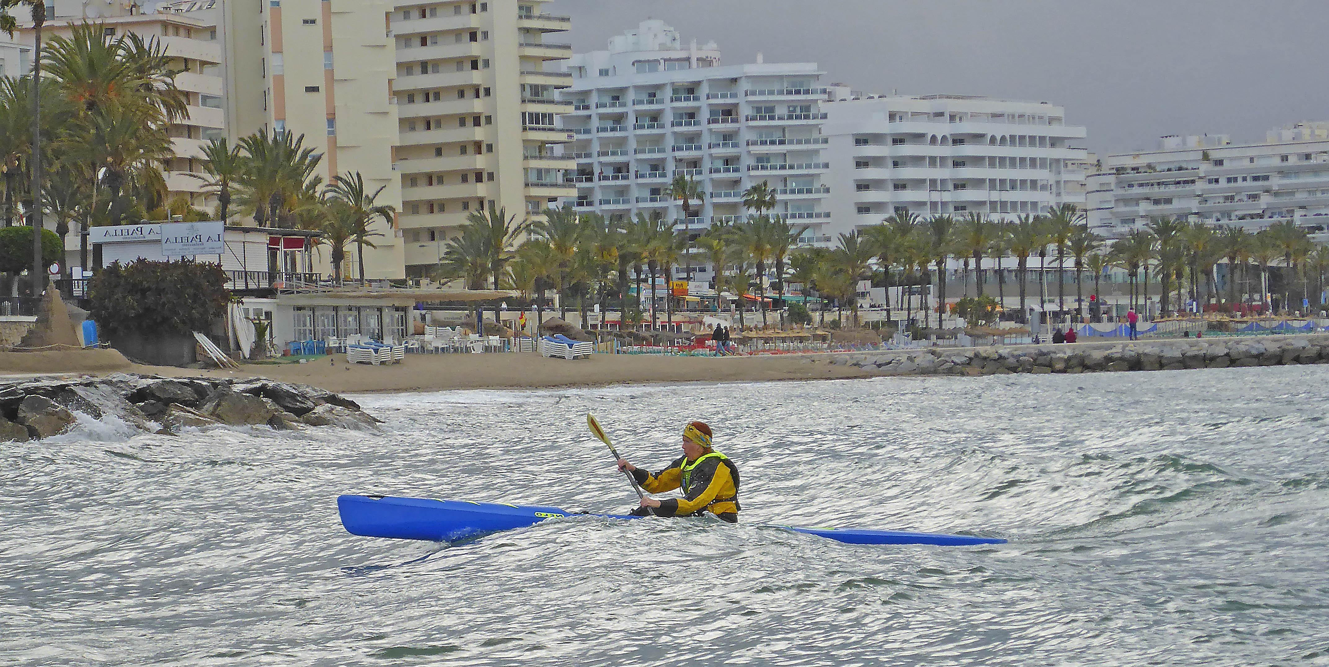 Marbella Surfski Anna P1060052