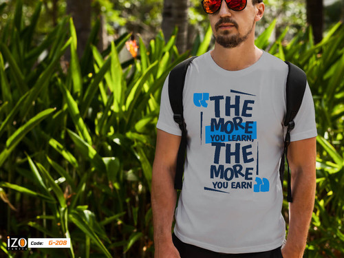 316b97ff78128 The More Learn T-shirt