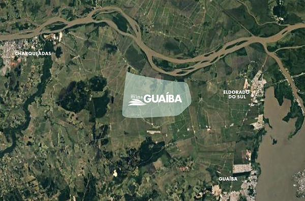 Projeto Mina Guaíba www.projetominaguaiba.com.br