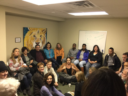 We had a guest ministry team from the Bethel School of Supernatural Ministry visit us.