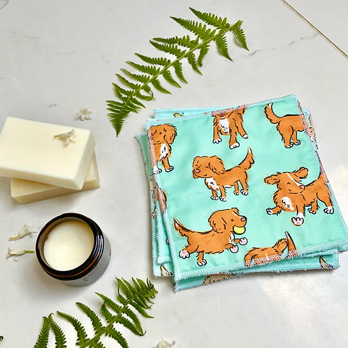 Mint Toller Reusable Wipes