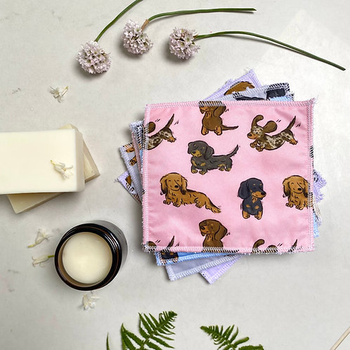 Dachshund Reuseable Wipes