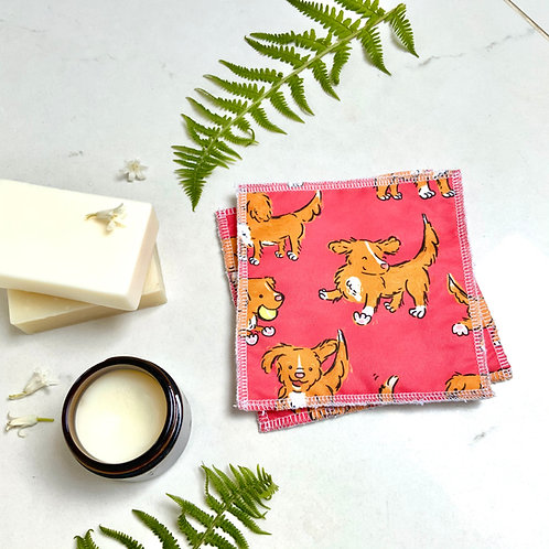 Red Toller Reusable Wipes
