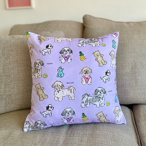 Add on Personalised Velvet Cushion