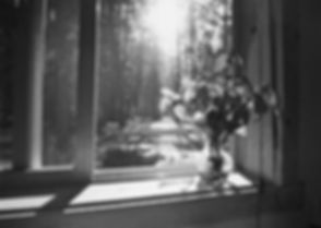 The view from our kitchen sink when we lived in a little cabin in Mazama, WA