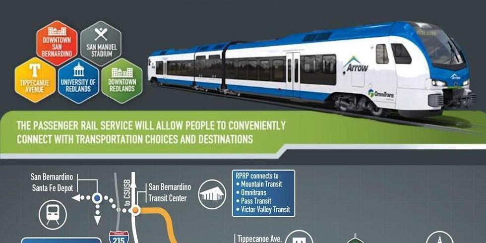 Redlands Passenger Rail Project Presentation (SB/R YMF)